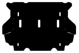 Защита радиатора Toyota Fortuner 2,7