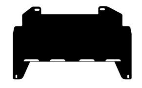 Защита рулевых тяг  Toyota LC 80  4,0; 4,2; 4,4TD; 4,5   1990-1997