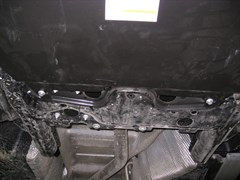 Защита картера и КПП  Volkswagen Multivan  2009-