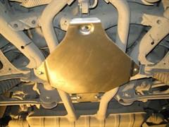 Защита редуктора заднего моста  Volkswagen Touareg   2010-