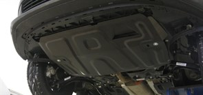 Защита картера и КПП  Volkswagen Polo Sedan/PoloV  малая  2010-2015-