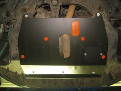 Защита картера и КПП Zotye T600 2014-2021 V-1,5;2,0 V-all